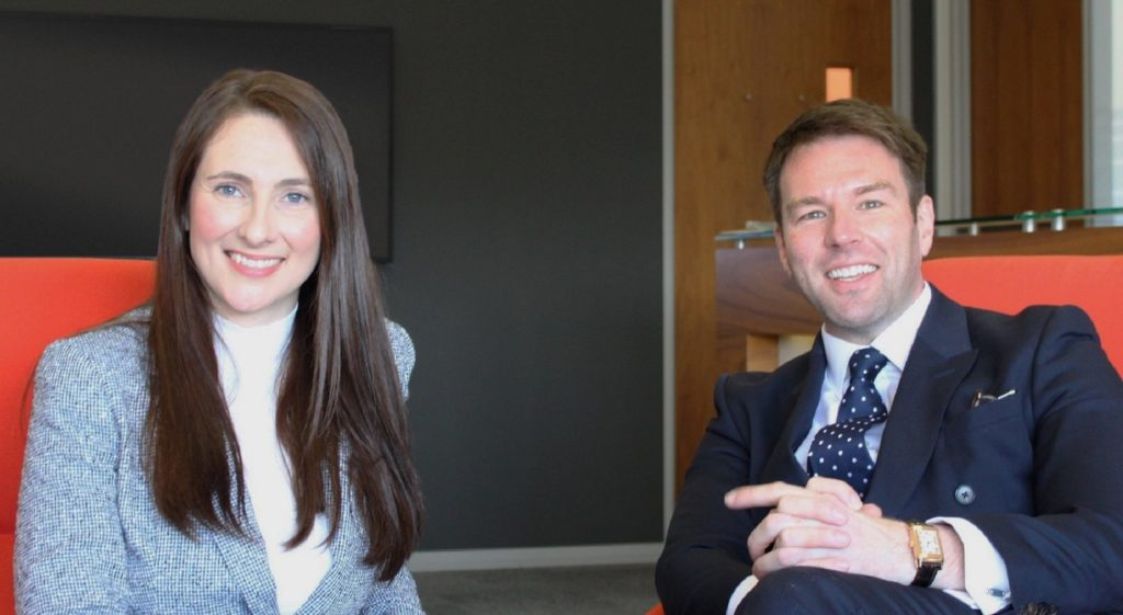 Victoria Hicks and Jonathan Barrow - The City & Capital Group
